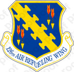 STICKER USAF 126TH AIR REFUELING WING