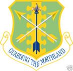 STICKER USAF 119TH FIGHTER WING