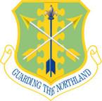 STICKER USAF 119TH WING