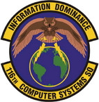 STICKER USAF 116TH COMPUTER SYS SQ