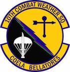 STICKER USAF 10th Combat Weather Squadron