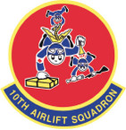 STICKER USAF 10TH AIRLIFT SQUADRON1