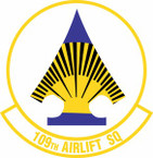 STICKER USAF 109th Airlift Squadron