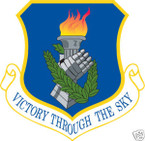 STICKER USAF 108TH AIR REFUELING WING