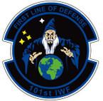 STICKER USAF 101ST IFW