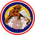 STICKER USAF 100TH FIGHTER SQUADRON