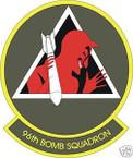 STICKER USAF  96TH BOMB SQUADRON