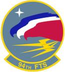 STICKER USAF  94TH TRAINING SQUADRON