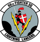 STICKER USAF  68TH FIGHTER SQUADRON
