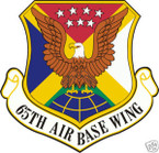 STICKER USAF  65TH AIRBASE WING II