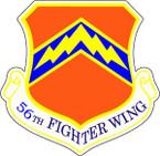 STICKER USAF  56th Fighter Wing