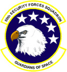 STICKER USAF  50TH SECURITY FORCES SQUADRON