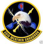 STICKER USAF  46TH WEATHER SQUADRON
