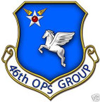 STICKER USAF  46TH OPERATION SUPPORT GROUP