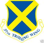 STICKER USAF  37TH TRAINING WING