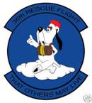 STICKER USAF  36TH RESCUE SQUADRON