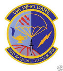 STICKER USAF  23RD SPECIAL TACTICAL SQUADRON