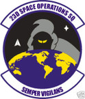 STICKER USAF  23RD SPACE OPERATIONS SQUADRON