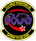 STICKER USAF  21ST SPACE OPERATIONS SQUADRON