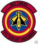 STICKER USAF  21st AIRLIFT SQUADRON
