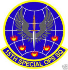STICKER USAF  15TH SPECIAL OPERATIONS SQUADRON