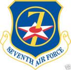 STICKER USAF   7TH AIR FORCE
