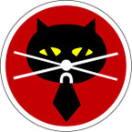 STICKER USAF   5TH RECONNAISSANCE SQUADRON CAT