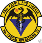STICKER USAF   3RD SPECIAL OPERATIONS SQUADRON