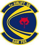STICKER USAF   1ST AIRLIFT SQUADRON
