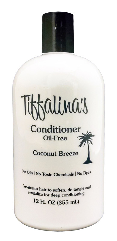 Tiffalina's  Conditioner - 12 oz - For Use on Oil-Free Diets