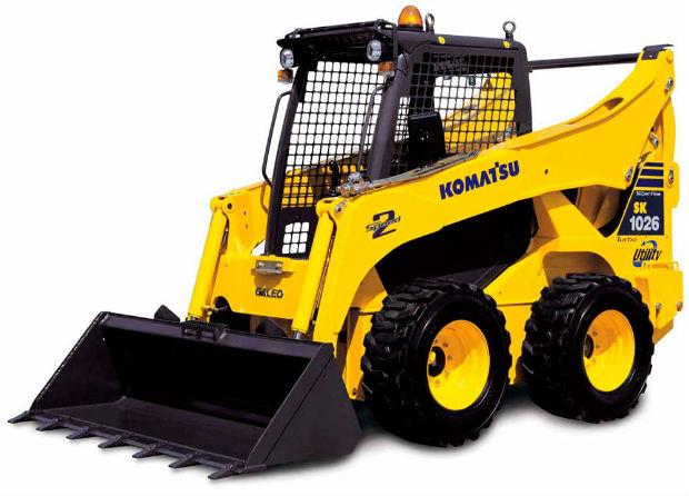 Komatsu Compact Track Loader