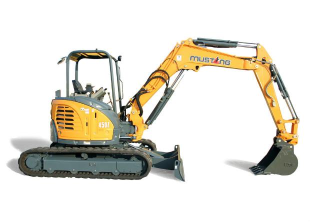 Mustang Compact Excavator