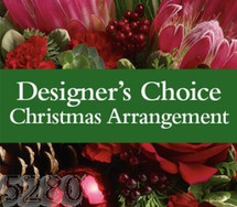 Florist's Choice Christmas Arrangement