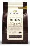 Callebaut dark Belgium chocolate callets 54.4% Bulk bag 2.5kg
