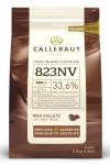 Callebaut Milk Belgium Chocolate Callets 33.6% 2.5kg Bulk bag