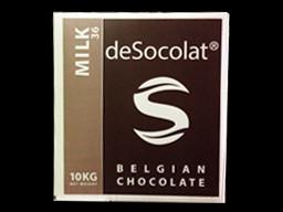 Desocolat Milk Belgium Chocolate Buttons 36% 10kg bulk box