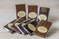Ginger, Macadamia & Dark Belgian Chocolate Bar