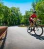 Advanced Carbon Bib Shorts on the road