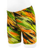 Aero Tech Youth Wild Print - PADDED Cycle Short - High Visibility Blur