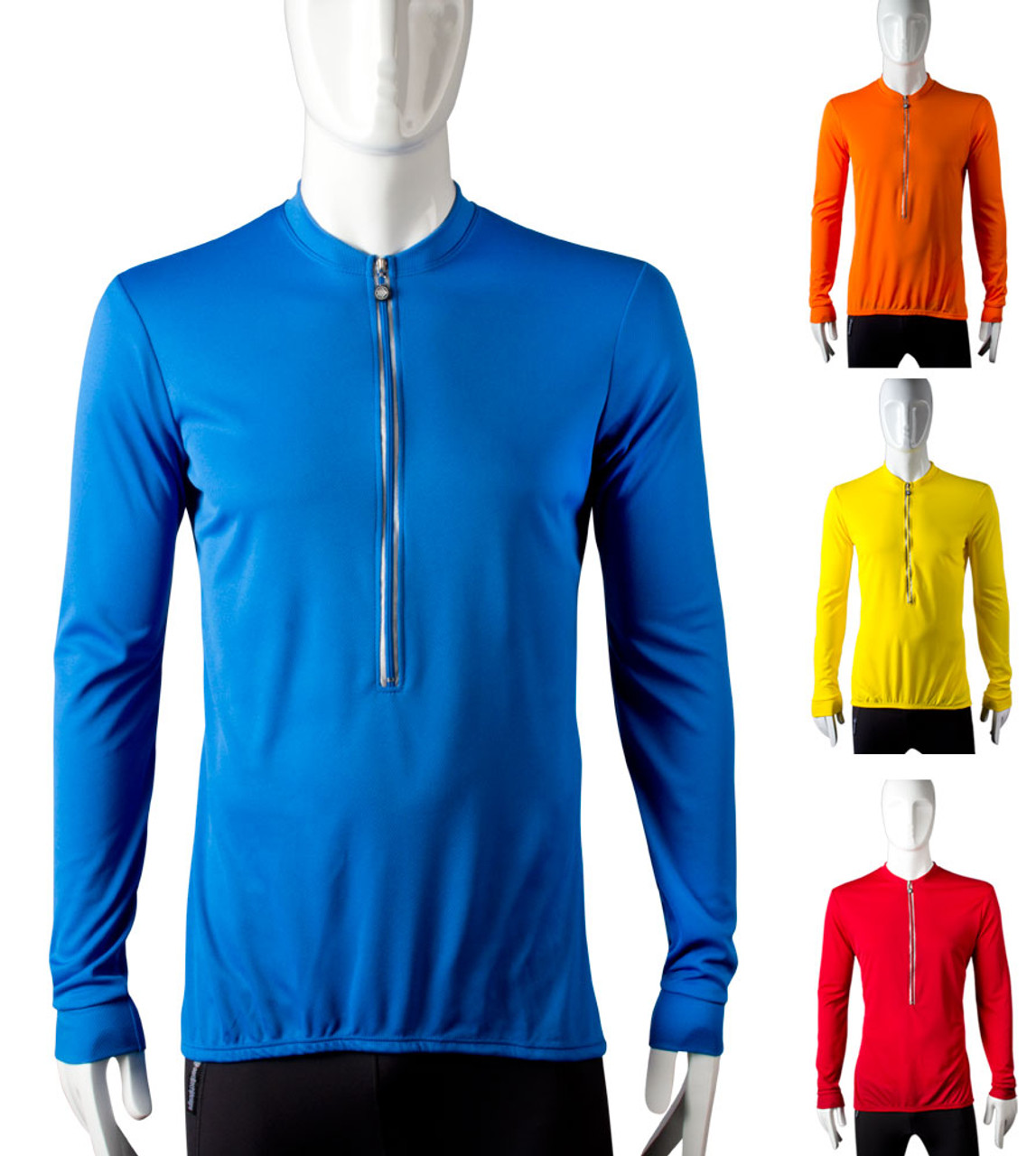 Men S Tall Cycling Jersey Long Sleeves And Torso Aero Tech Designs