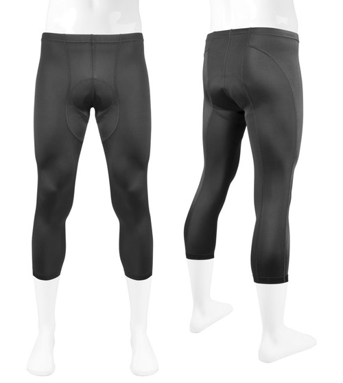 Aero Tech Men's Triumph PADDED Spandex Cycling Knickers - Made in USA