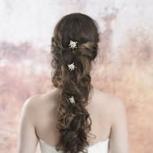 Taylor Mini Gold Freshwater Pearl Hair Pins