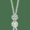 ASTERIAS starfish silver textured Necklace