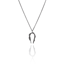 CYGNUS Oxidised Silver Necklace
