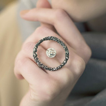 Tina_Kotsoni_oxidised_silver_abstract_ring_handmade_Greece_Greek_textured