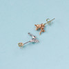 Fox and Hare Stud Earrings By Emily