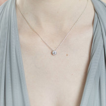 'Caprice' Circular Diamante Necklace