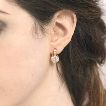 Sonja Gold Plated Earrings