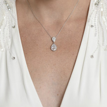 'Rosie' Classic Teardrop Necklace