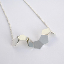 'GEOM' Sterling Silver Necklace (No.8)